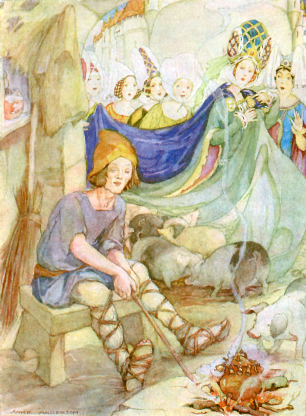 Frog Prince, Anne Anderson