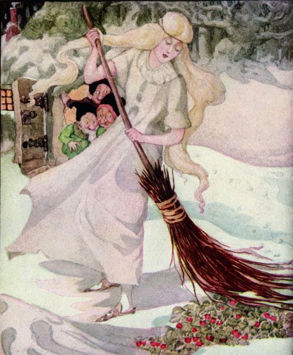 The Three Dwarfs, Anne Anderson