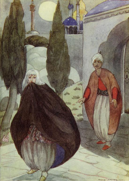 Anne Anderson, Sidi Nouman