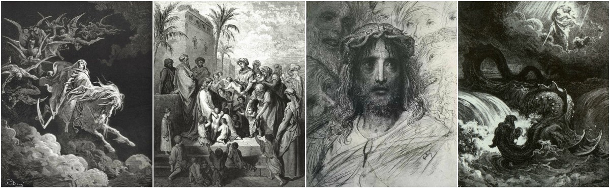 Gustave Dore illustrations to The Bible from the 1866 edition.  Art Prints at Artsy Craftsy