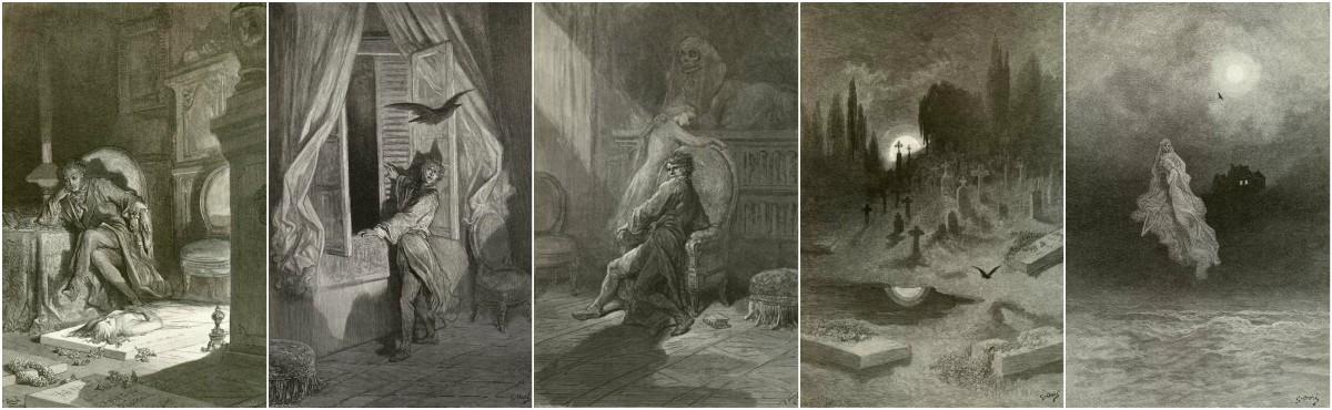 Gustave Dore, The Raven art prints