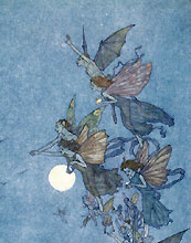 Edmund Dulac Elves and Fairies