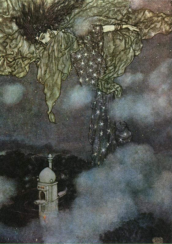 The Sleeve of Night, Edmund Dulac