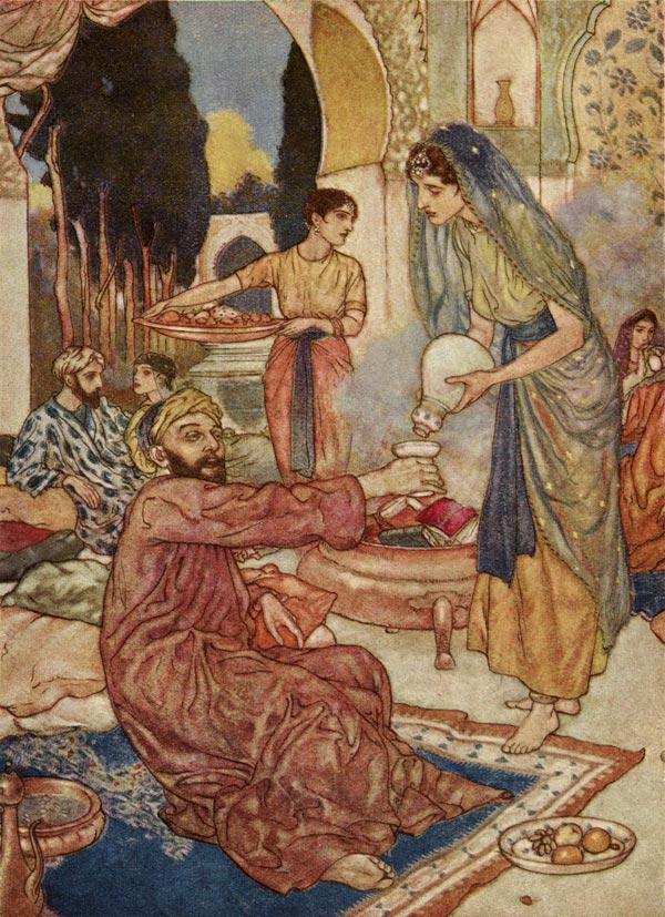 A New Marriage, Edmund Dulac