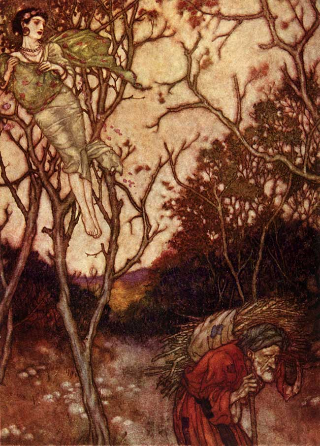 That Spring Should Vanish with the Rose, Edmund Dulac