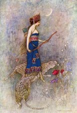Zenobia, Queen of Palmyria by Warwick Goble